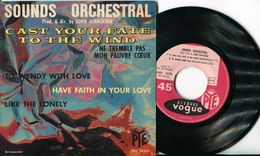 JOHN SCHROEDER EP VINYLE SOUNDS ORCHESTRAL- CAST YOUR FATE TO THE WIND - - Jazz