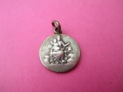 Médaille Religieuse Ancienne /Coeur Du Christ / Vierge Et Enfant /Fin XIXéme Siécle         CAN481 - Religion & Esotericism