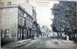 55 VERDUN PLACE SAINT NICOLAS ET RUE SAINT LOUIS  CAFE DU MIDI - Verdun