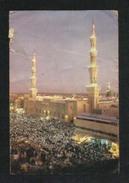 Saudi Arabia Picture Postcard Holy Mosque Medina  Madina View Card  AS PER SCAN - Arabie Saoudite