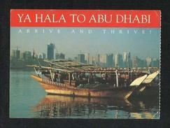 UAE Abu Dhabi Airport Duty Free Picture Postcard U A E - Dubai