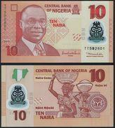 Nigeria DEALER LOT ( 10 Pcs ) - 10 Naira 2010 POLYMER - UNC - Nigeria