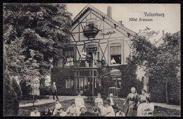 VALKENBURG - HOTEL FRANSSEN -- Zeer Zeldzaam Met TREINSTEMPEL 1911 AKEN - MAASTRICHT Op Rug - 3 Scans - Naar Anvers Gest - Valkenburg