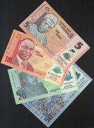Nigeria SET - 5 10 20 50 Naira 2008 2009 POLYMER - UNC - Nigeria