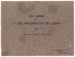 Mines De La Cie Des Phosphates De Gafsa ( Tunisie ), Album Travaux Photographiques D'Art A. Perrin + 1 Photo Originale - Photographie