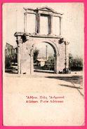Athènes - Porte Adrienne - Animée - Grecia
