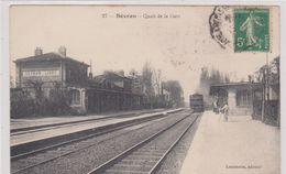 SEVRAN. La Gare. Scan R.v - Sevran