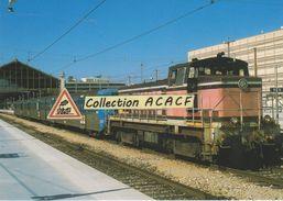 Loco BB 63162 En Manoeuvre à La Gare Saint-Charles, à Marseille (13) - - Stations With Trains