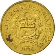 Pérou, 5 Soles, 1979, Lima, TTB, Laiton, KM:271 - Pérou