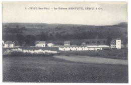 CPa Delle ( Haut-Rhin ), Les Usines Amstutz, Lervi & Cie - France