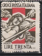 Croce Rossa Iatliana. Erinofilo L. 30. In Basso Lit Flli Manzoni. Vignettista : C. Mezzana - Italie