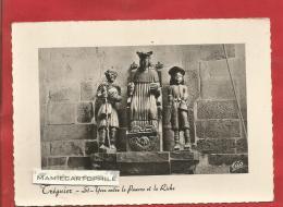 TREGUIER - Côtes D'Armor - St-Yves Entre Le Pauvre Et Le Riche - CPM - - Tréguier