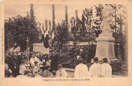 37 - INDRE ET LOIRE / 37508 - Luzé - Inauguration Du Monument Aux Morts - Otros Municipios