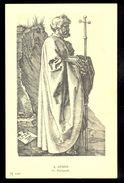 A. Durer - St. Philippus / Postcard Not Circulated, 2 Scans - Künstlerkarten