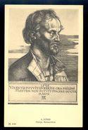 A. Durer - Philipp Melanchthon / Postcard Not Circulated, 2 Scans - Künstlerkarten