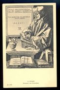 A. Durer - Erasmus Von Rotterdam / Postcard Not Circulated, 2 Scans - Künstlerkarten