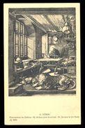 A. Durer - St. Jerome In His Study / Postcard Not Circulated, 2 Scans - Künstlerkarten