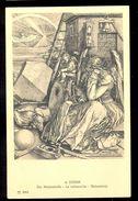 A. Durer - Melancholy / Postcard Not Circulated, 2 Scans - Künstlerkarten
