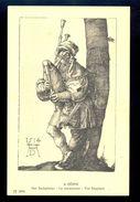 A. Durer - The Bagpiper / Postcard Not Circulated, 2 Scans - Künstlerkarten