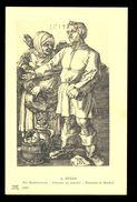 A. Durer - Pesants At Market / Postcard Not Circulated, 2 Scans - Künstlerkarten