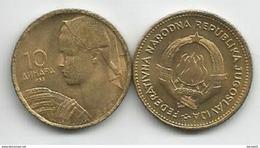 Yugoslavia 10 Dinara 1955. UNC/AUNC KM#33 - Yougoslavie