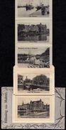 SUPERBE OLD CARD MULTI VUE Art Deco ** HÄLSNING FRÄN MALMÖ ** 2 Scans - RARE ! - Suède