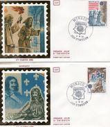 FDC MONACO  EUROPA   TIMBRE   N° YVERT ET TELLIER  1322/3  1982 - FDC