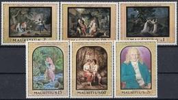 MAURITIUS 325-330,unused - Mauritius (1968-...)