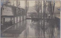92 Billancourt  Hameau Fleuri  Pavillon D'habitation Usine  Vignon- Pommier 28 Janvier 1910 Inondation - Boulogne Billancourt