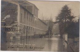 92 Billancourt  Hameau Fleuri  28 Janvier 1910 Inondation - Boulogne Billancourt