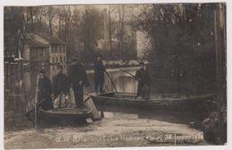 92 Billancourt  Hameau Fleuri  30 Janvier 1910 Inondation - Boulogne Billancourt