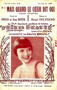 """Mais Quand Le Coeur Dit Oui, Du Film """" Prix De Beauté"""". - Film Music"""