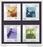 De356- Set -MNh  - Germany-1996- SC. B797-800- Olympic Games - Summer 1996: Atlanta