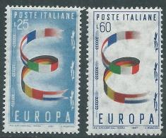 1957 ITALIA EUROPA MNH ** - Z17-4 - Europa-CEPT