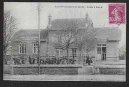 GUAINVILLE - Ecole & Mairie - Frankreich