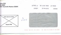 Lettre Expert Lille - Marcophilie (Lettres)