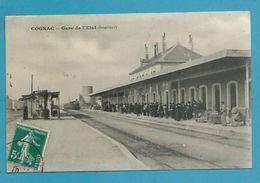 CPA - Chemin De Fer Arrivée Du Train En Gare De COGNAC 16 - Cognac