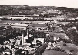 GOUDARGUES - GARD - (30) - CPSM  DENTELÉE - BEL AFFRANCHISSEMENT POSTAL DE 1956. - France