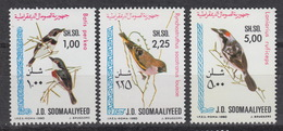 SOMALIA : Yvert 255-57  MNH – Birds  (1980) - Somalia (1960-...)