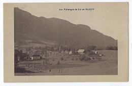 CPA 74 Haute Savoie Les Paturages Du Col De Bluffy Près Annecy Menthon Saint Bernard Alex Talloires Veyrier Du Lac - Otros Municipios