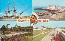 Angleterre        585       Souvenir Of Southsea. 5 Views - Portsmouth