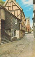 Angleterre        590       Shrewsbury.Bear Steps , Fish Street - Shropshire