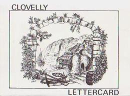 Angleterre         H253       Clovelly     Lettercard ( 6 Views ) - Clovelly