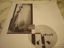 ANCIENNE PUBLICITE ROBE LE REFLET DE PARIS ROBERT TELY 1929 - Vintage Clothes & Linen
