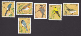 Cambodia, Scott #1514-1519, Mint Hinged, Birds, Issued 1996 - Cambodia