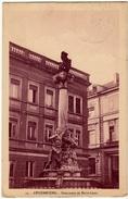27 - LUSSEMBURGO - LUXEMBOURG - MONUMENT DE DICKS-LENTZ - 1923 - Vedi Retro - Formato Piccolo - Lussemburgo - Città