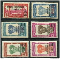 Gabon (1926) N 110 à 115 * (charniere) - Gabon (1886-1936)