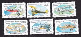 Cambodia, Scott #1527-1532, Mint Hinged, Planes, Issued 1996 - Cambodge