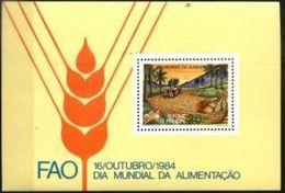 SAO TOME AND PRINCIPE, 1984, WORLD FOOD DAY, FAO , R#169, YV#B.42, SS, MNH - São Tomé Und Príncipe