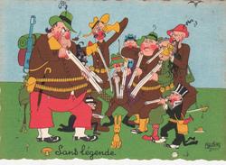CPSM  Sport Chasse Chasseur Lapin Rabbit Humour Illustrateur DUBOUT - Dubout
